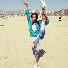 Listen to Olympian Gabby Douglas: Sometimes You Need to Take a Break! #gymnastics #gymnast #gabbydouglas