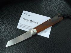 Kansei Matsuno Gentleman Friction TANTO - Desert Ironwood