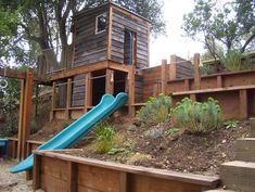 Childrens Play modern landscape