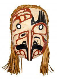 Eagle Mask by David Boxley INUIT  ART / ALASKAN NATIVE PEOPLES ' ART / NORTHWESTERN ART / NATIVE CANADIANS' ART : More At FOSTERGINGER @ Pinterest