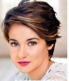 Short Layered Haircuts for Round Faces.