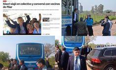 #VERGÜENZAESMACRI: EL PRESIDENTE ARGENTINO SIMULO VIAJAR EN OMNIBUS. IMAGENES INSOLITAS   Acting para la giladaUna vez mas la pantomima berreta y el márketing en pantuflas empujan al presidente y al Ministro de transporte por el angosto sendero de los gobernantes mas patéticos de la historia argentina. En el dia de ayer todos los medios adictos a la alegría publicaron en coloridas notas El viaje de Macri y Dietrich en el colectivo 520 junto a vecinos pero como ocurre a menudo en estos…