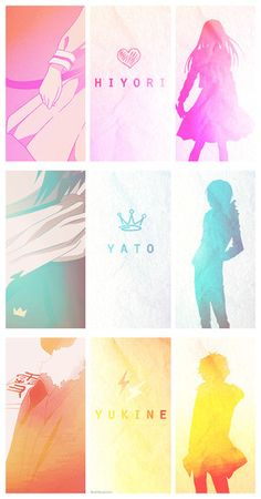 Yato, Hiyori, and Yukine - Noragami Manga Anime, Anime Body, Film Anime, Fanarts Anime, Anime Art, Noragami Bishamon, Anime Noragami, Yato And Hiyori, Anime Quotes Tumblr