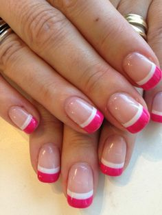 Nails Design Summer Gel French Manicures Colour Ideas For 2019 The post Nails Design Summer Gel French Manicures Colour Ideas For 2019 appeared first on Fox. The post Nails Design Summer Gel French Manicures Colour Ideas For 2019 appeared first on Fox. French Manicure Gel, French Nails, French Manicures, Summer French Manicure, Coloured French Manicure, French Manicure Designs, Manicure Colors, Manicure Y Pedicure, Nail Colors