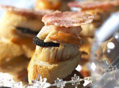 Découvrez la recette Toasts de Saint-Jacques truffées sur cuisineactuelle.fr.