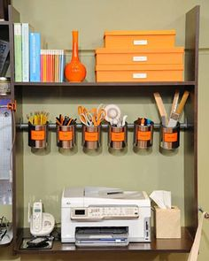 Got a cluttered office? The following brilliant DIY organization tips and projects will help you transform your office into an efficient workspace. Organizing your office doesn't have to cost a lot of time. And you don't need to spend a lot of money on these organization projects.
