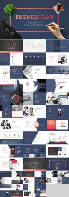 Best tech business plan PowerPoint template downloa on Behance Bester Tech-Businessplan PowerPoint-Vorlage downloa on Behance Keynote Design, Ppt Design, Powerpoint Design Templates, Design Websites, Design Blog, Keynote Template, Layout Design, Chart Design, Modern Powerpoint Design