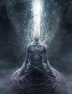 The Mystic Brotherhood: Dark Night of The Soul Meditation/Ritual @ Spirit of Tiphereth, Columbus July] Image Psychedelic, Le Reiki, Nova Era, Psy Art, Mystique, Art Graphique, Visionary Art, Dark Night, Art Plastique
