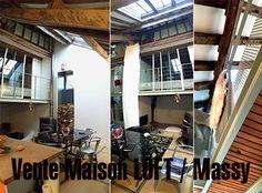 Un loft atypique, tout en métalk et en baies vitrées dans le centre du vieux vilage de Massy dans l'Essone Loft, Centre, Decoration, Outdoor Decor, Home Decor, Home Remodeling, Bay Windows, Decor, Decoration Home