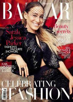 US Harper's Bazaar April 2014 feat Sarah Jessica Parker