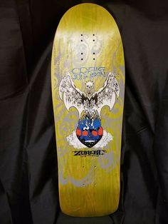 Real Skateboards, Vintage Skateboards, Craig Johnson, Fire Demon, Skate Art, Skateboard Art, Birthday Presents, Tattoos, Birthday Gifts