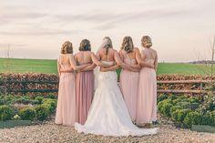 Blush Pink & Rose Gold Barn Wedding