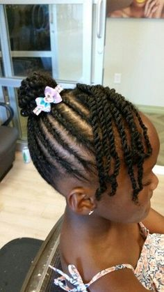 49 Natural Black Hairstyle Ideas for Curly Little Girls – kids hairstyles – - Little black girl hairstyles Childrens Hairstyles, Lil Girl Hairstyles, Black Kids Hairstyles, Natural Hairstyles For Kids, Kids Braided Hairstyles, Kids Natural Hair, Gorgeous Hairstyles, Hairstyles Pictures, Quick Hairstyles