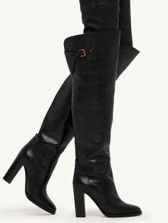 Calfskin Halara Boot - Ralph Lauren Boots - RalphLauren.com