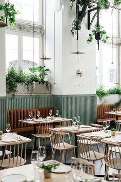 Prado Lisbon is a spirtual home for Nuno Mendes protégé António Galapito Restaurant Interior Design, Shop Interior Design, Restaurant Interiors, Scandinavian Restaurant, Coffee Shop Design, Shop Interiors, Small Cafe, Villa, Back Home