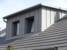Bungalow Loft Conversion, Attic Conversion, Dormer Roof, Dormer Windows, Attic Inspiration, Loft Room, Construction, House Roof, Cladding