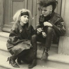 2. Goth fashion--Started in the 1980s, was derived from literary and art versions of characters in Gothic novels; vampires and the Addams Family.