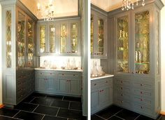 grey paint butlers pantry - Google Search