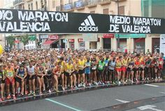 Salida Medio Maratón Valencia 2012