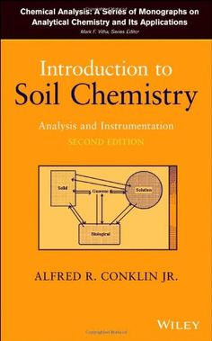 Introduction to soil chemistry : analysis and instrumentation / Alfred R. Conklin, Jr.