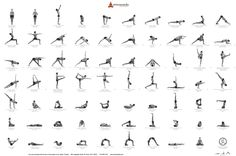 How many of these #yoga poses have you perfected? Remember, it takes lots of practice and #motivation! #BicepsUp