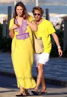 Andrea and Tatiana in Rio de Janeiro Andrea Casiraghi, Charlotte Casiraghi, Tall Girl Short Guy, Short Girls, Princesa Carolina, Princess Grace Kelly, Monaco Royal Family, Tall Women, Hippie Chic