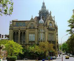 Saadet sarayi building (Wedding Chapel) in Baku, Azerbaijan