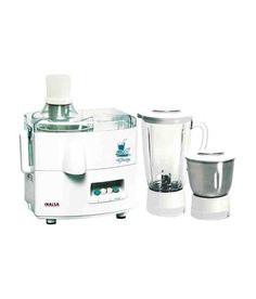 Inalsa Gloria 450 W Juicer Mixer Grinder(White, 3 Jars) Cheap Kitchen Appliances, Buy Kitchen, Kitchen Gadgets, Home Appliances, Super Cook, Unique Gadgets, Thing 1, Hand Blender