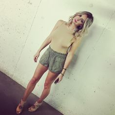 """tea you body suit in biscotti aritzia cargo shorts aquazurra """"sexy thing"""" camel heels porsche sunglassesn Yeezus Kanye, Kendall, Kylie, Lbd, Camel, Suits, Outfit, Birthday, Sexy"""