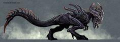 xenomorph rex by *nebezial on deviantART