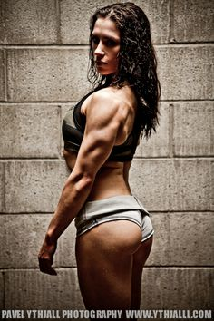 arms and glutes of steel