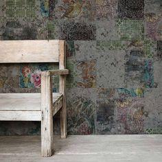 YoYo Designs Architectural Archaeology Wallpaper Mural - Yo2 R1.11 | R1.11 | £40.00