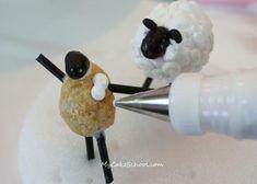 Rice Crispie Treat Sheep Tutorial