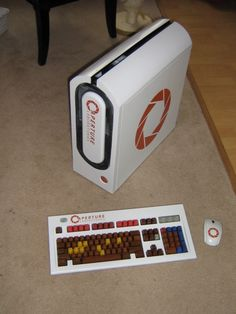 """""""THE PC CASE MOD IS NOT A LIE! THIS ONE IS THEMED AFTER """"PORTAL""""!"""" WANT WANT WANT WANT"""