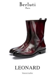 Berluti - the Leonard boot…  at Bergdorf Goodman NYC