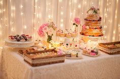 """Wedding cake decorated with flowers from French Made. Photo credit: Elle Benton.  For more Alternative Wedding inspiration, check out the No Ordinary Wedding article """"20 Quirky Alternatives to the Traditional Wedding""""  http://www.noordinarywedding.com/inspiration/20-quirky-alternatives-traditional-wedding-part-2"""