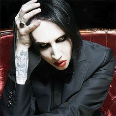 Marilyn Manson. Scary looking but weirdly stylish at the same time, and his music rocks!