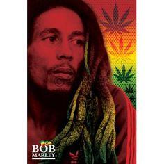 Poster: Bob Marley - dreads online te koop. Bestel je poster, je 3d filmposter of soortgelijk product Maxi Poster