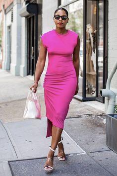 8 vestidos para usar do office ao happy hour Amy Jackson, Miroslava Duma, Happy Hour, African Hair Wrap, Nice Dresses, Dresses For Work, Cute Work Outfits, Looks Street Style, Top 5
