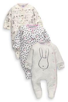 Next:日本で今すぐオンラインショッピング: モノトーン バニー スリープスーツ 3 着パック (0 か月~2 歳) Next:日本