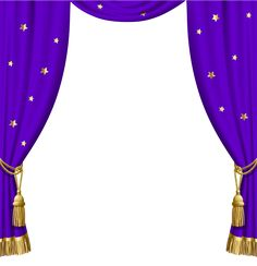 Transparent Purple Curtains with Gold Tassels and Stars Dslr Background Images, Cartoon Background, Frame Background, Wedding Background, Photo Backgrounds, Lily Elsie, Curtains Vector, Purple Curtains, Iphone Background Wallpaper
