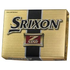 Srixon Z-Star Men's 3 Piece Construction Golf Ball by Srixon. $46.00. Z-STAR is a high-performance 3 pc construction ball with low compression and extremely soft feel. Featuring a combination of an ultra thin urethane cover, bigger core and new dimple configuration to maximize the longer distance and spin around the green. Z-STAR is softer than Z-STAR X and provides exceptional feel around the green and distance control.