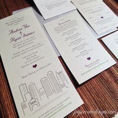 cool 12 vista wedding invitations