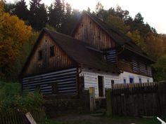 Old watermill in Zubrnice, Czech Republic.