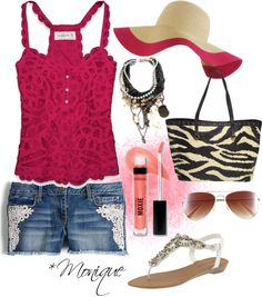 *Summer Love 3, created by iammonique on Polyvore
