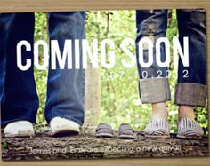 fun baby announcement ideas  {little pearl photography}