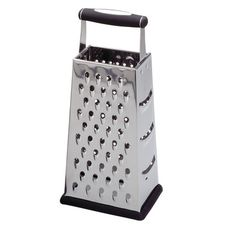 Fox Run Craftsmen Stainless Steel Four Sided Box Grater 1135