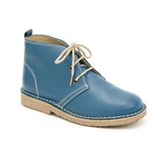 Love the colour and shape of these kids boots from La Coqueta
