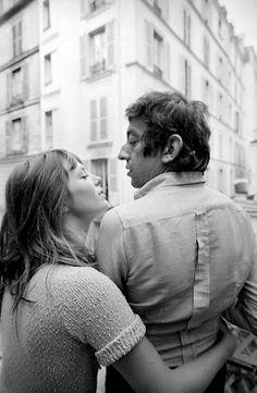 Can't get enought of vintage photograhs of Jane Birkin and Serge Gainsbourg