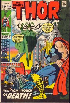 Thor 189 - Hela - death is as good a foe as a god can fight.
